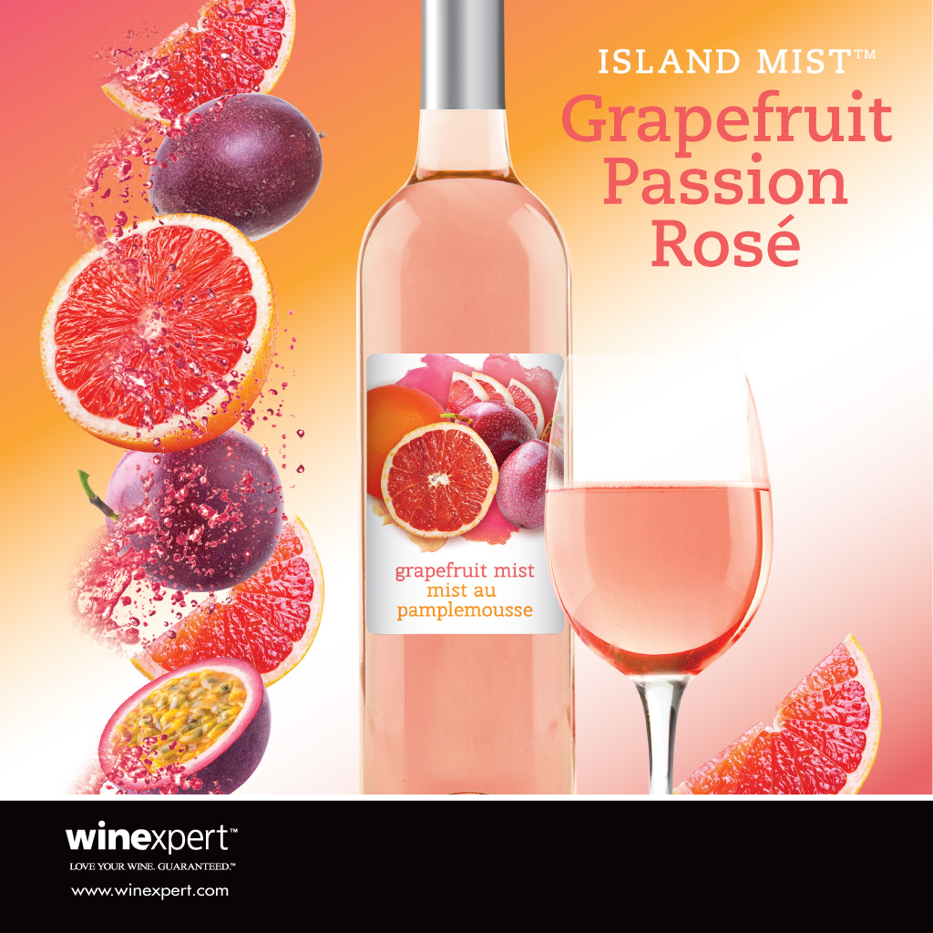 Grapefruit Passion Rose' (Available Feb.19th)