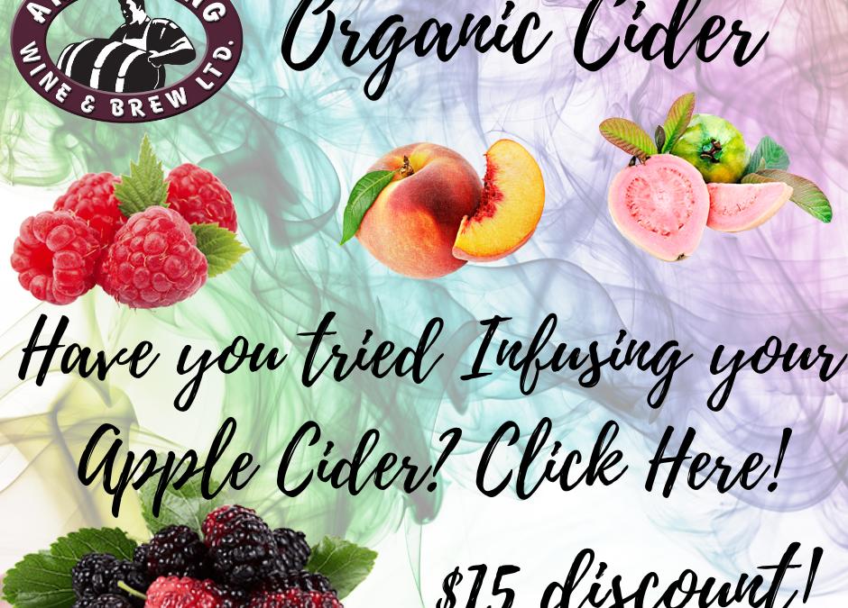 Organic Apple Cider on Sale